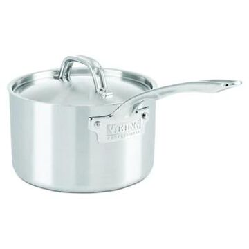 Viking Professional 3 qt. 5-Ply Stainless Steel Covered Saucepan