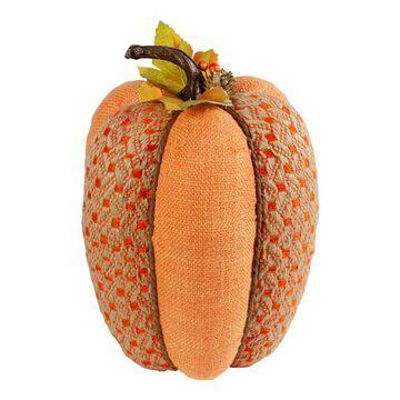 "10.5"" Orange Pumpkin Tabletop Decor By Northlight | Michaels"