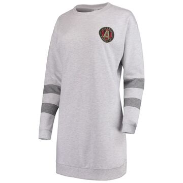 Atlanta United FC ZooZatz Women's Sweatshirt Dress - Gray
