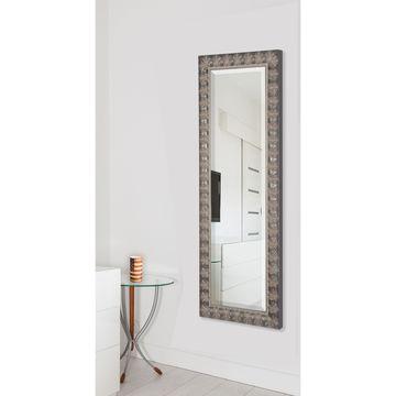 American Made Rayne Mahogany Feathered 27 x 65-inch Full Body Mirror - Dark Mahogany - A/N