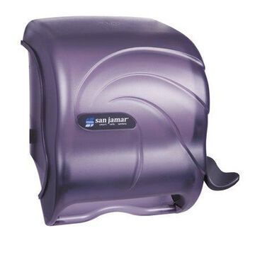 San Jamar Element Lever Roll Towel Dispenser, Oceans, Black, 12 1/2 x 8 1/2 x 12 3/4 -SJMT990TBK