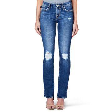 Women's Rock & Republic Kaia Mid-Rise Straight-Leg Jeans