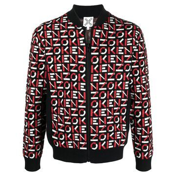 Kenzo Sport monogram bomber jacket