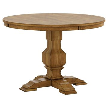 South Hill Round Pedestal Base Dining Table - - Inspire Q