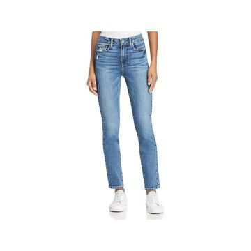 Paige Womens Hoxton Skinny Jeans Denim High Rise