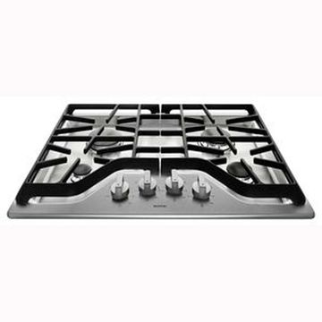 Maytag 30-in Stainless Steel Gas Cooktop (Common: 30-in; Actual: 30-in)