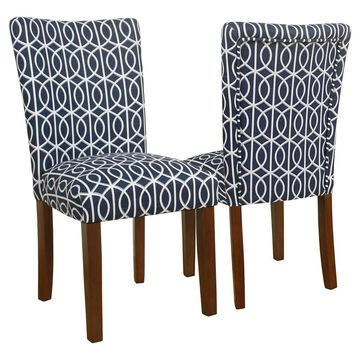 Parsons Chair - (Set of 2) - HomePop