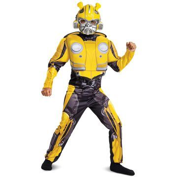 Disguise Bumblebee Classic Muscle Child Costume-Large (10-12)