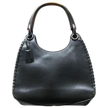 Gucci Black Leather Handbags