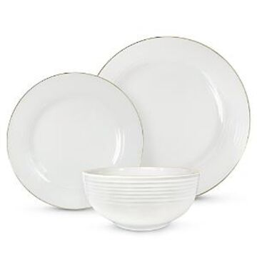 Godinger Saba Gold 18 Piece Dinnerware Set - 100% Exclusive