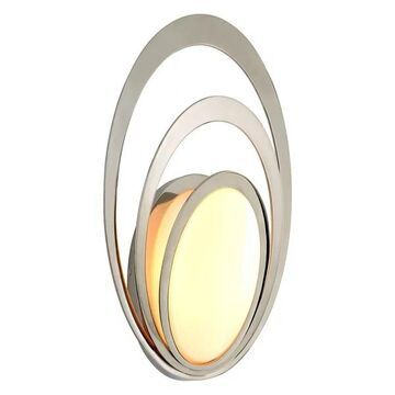 Troy Stratus 1-LT Wall Light B6503 - Polished Stainless