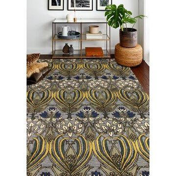 Bashian Armonk Transitional Floral Area Rug