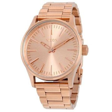 Sentry 38 Rose Gold-Tone Stainless Steel Unisex Watch A450897