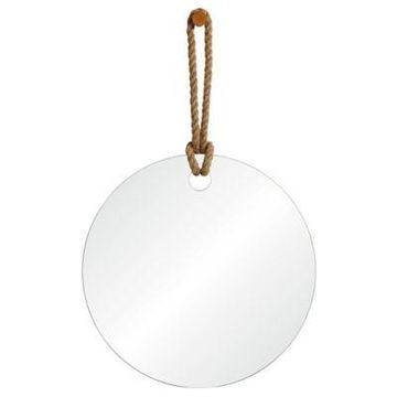 Ren-Wil Pelmet All-Glass Wall Mirror