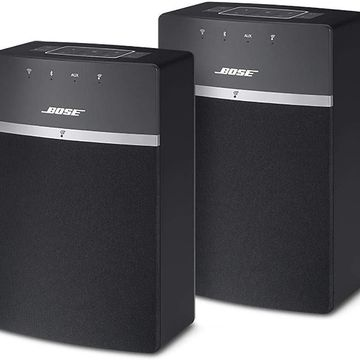 Bose Sound Touch 10 Speakers Wi-Fi and Bluetooth Speakers 2 Pack, Medium - Black