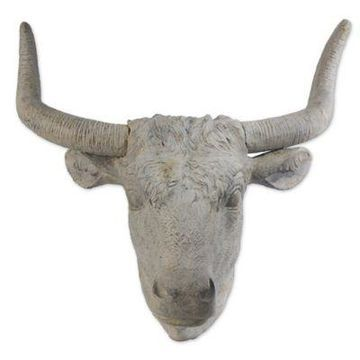 A&B Home Angus Horned Wall Accent