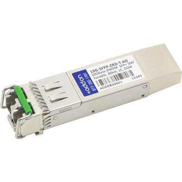 AddOn Brocade 10G-SFPP-ZRD-T Compatible TAA Compliant 10GBase-DWDM 50GHz SFP+ Transceiver (SMF, Tunable, 80km, LC, DOM)