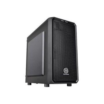 ThermalTakeVersa H15 - Micro tower - micro ATX - no power supply (PS/2) - black - USB/Audio(CA-1D4-00S1NN-00)
