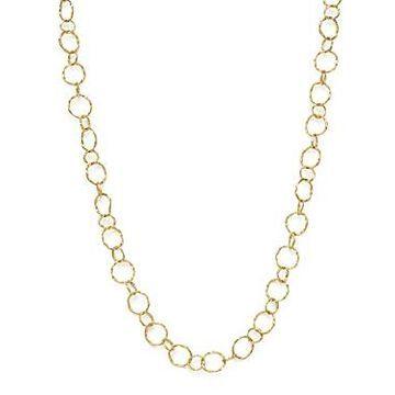 Armenta 18K Yellow Gold Sueno Yellow Circle Link Necklace, 18