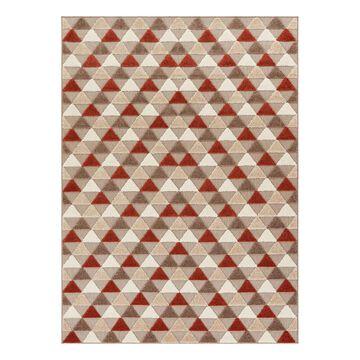 Well Woven Indoor Rugs Beige - Beige Geometric Dream Dorado Rug