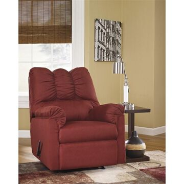 Flash Furniture Fabric Recliner in Red