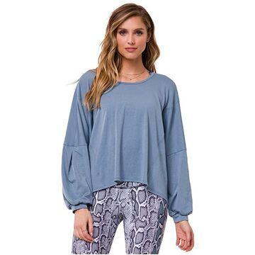 Onzie Om Top (Moonstone) Women's Clothing