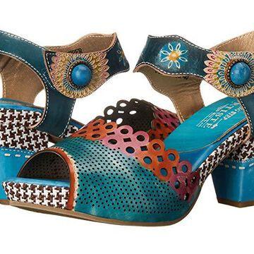 L'Artiste by Spring Step Jive (Sky Blue) Women's Shoes