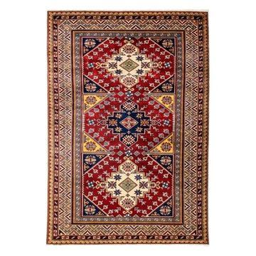 Solo Rugs One-of-a-kind Shirvan Hand-knotted Area Rug 5' x 8'