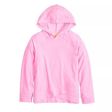Girls 4-12 Jumping Beans Crossover Hoodie