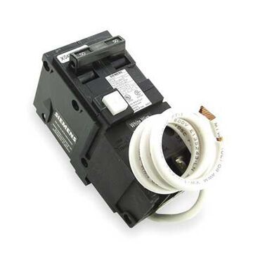 Miniature Circuit Breaker, 30 A, 120/240V AC, 2 Pole, Bolt On Mounting Style, BF Series
