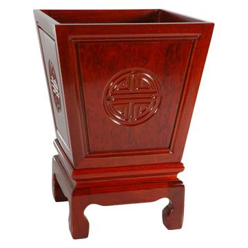 Oriental Furniture Long-Life Flower Container