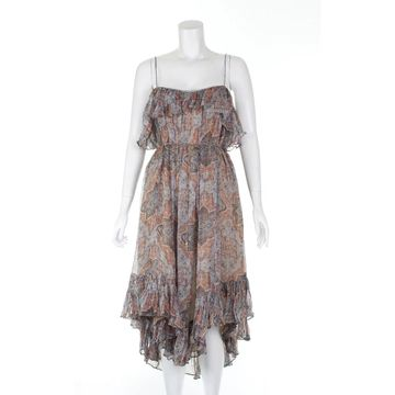 Zimmermann Orange Silk Dresses