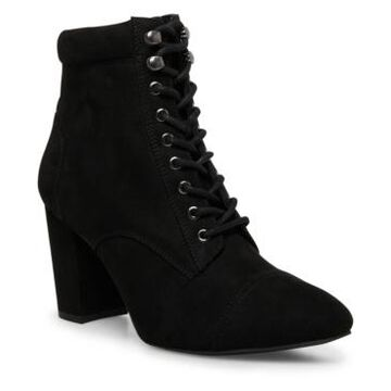 Madden Girl Justinee Lace-Up Booties