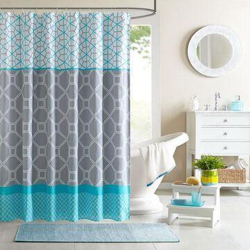Intelligent Design Zara Shower Curtain