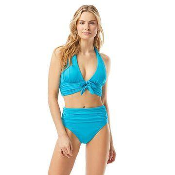 Carmen Marc Valvo Sunlit Seas Halter Top Women's Swimwear