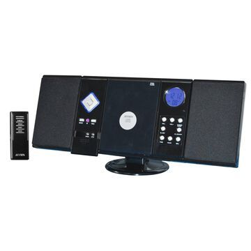 Jensen JMC-180 Micro Hi-Fi System - 2 W RMS - iPod Supported - AM, FM - CD-RW - MP3 - Remote Control