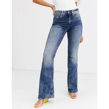 G-Star 3301 high waist flare jean-Blue