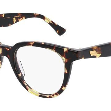 Bottega Veneta BV1020O 002 Womenas Glasses Tortoise Size 49 - Free Lenses - HSA/FSA Insurance - Blue Light Block Available