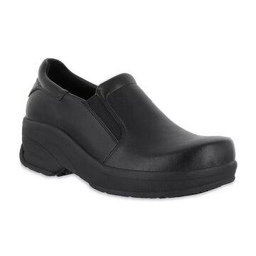 Easy Works by Easy Street Appreciate Women's Work Shoes, Size: 11 Wide, Black