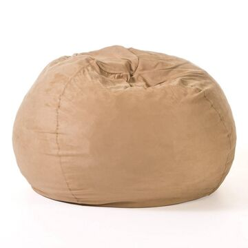 Christopher Knight Home Madison Faux Suede 5-Foot Beanbag -