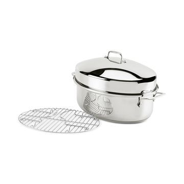 Stainless Steel Oval Roaster & Rack