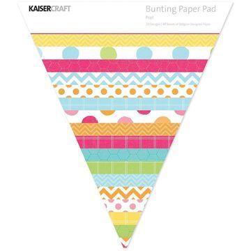 Kaisercraft Bunting Shaped Paper Pad Pop!