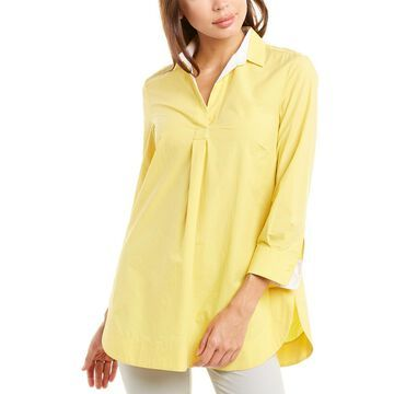 Piazza Sempione Open Placket Tunic Top