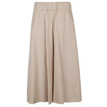 Aspesi Plain Flared Skirt