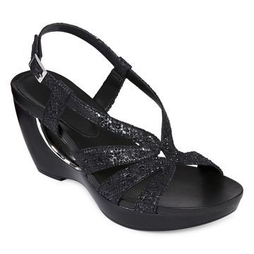 Andrew Geller Womens Ag Aaliyah Wedge Sandals