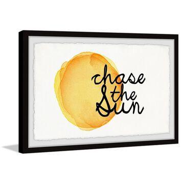 Marmont Hill - Handmade Chase the Sun V Framed Print