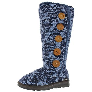 Muk Luks Malena Women's Knit Sweater Tall Winter Cold Weather Boots