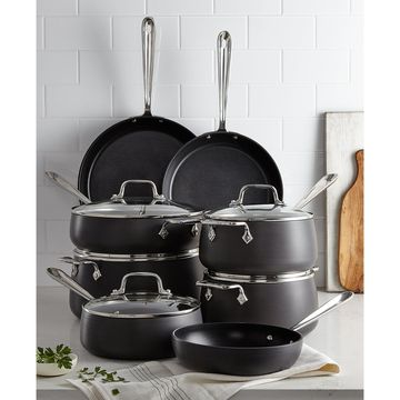 Hard-Anodized 13-Pc. Cookware Set