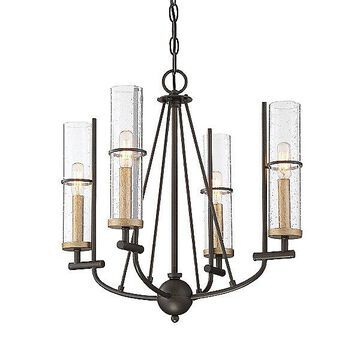Minka Lavery Sussex Court Chandelier - Color: Clear - Size: Small - 4086-107