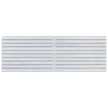SomerTile 12 x 35-Inch Caseta White Ceramic Wall Tile (24 Tiles/71.96 sqft.)